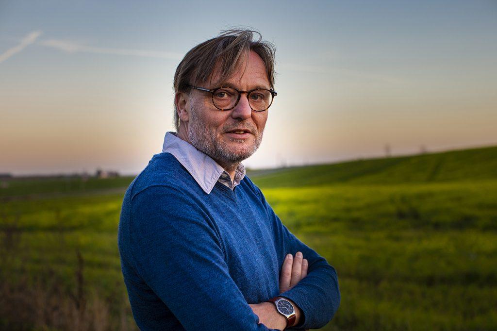Tore Jørgensen på sit gårdbryggeri