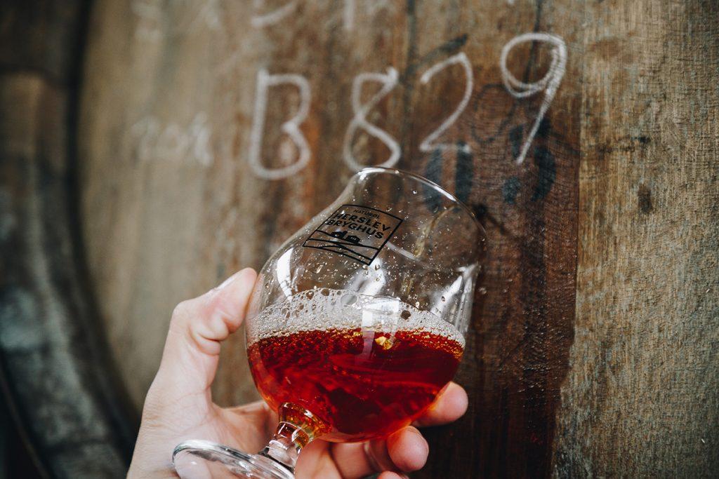 Fadlagring og specialøl fra rødvinstønder og whiskytønder