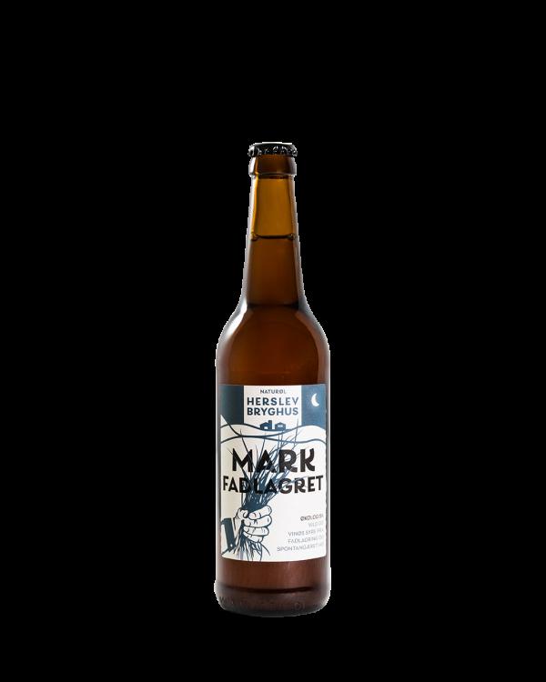 Fadlagret, spontangæret hø øl med dyb vinøs smag