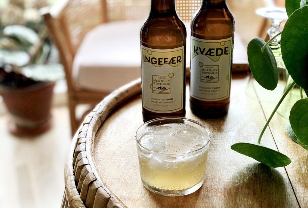 Brus er alkoholfri spontangæret økologisk læskedrik