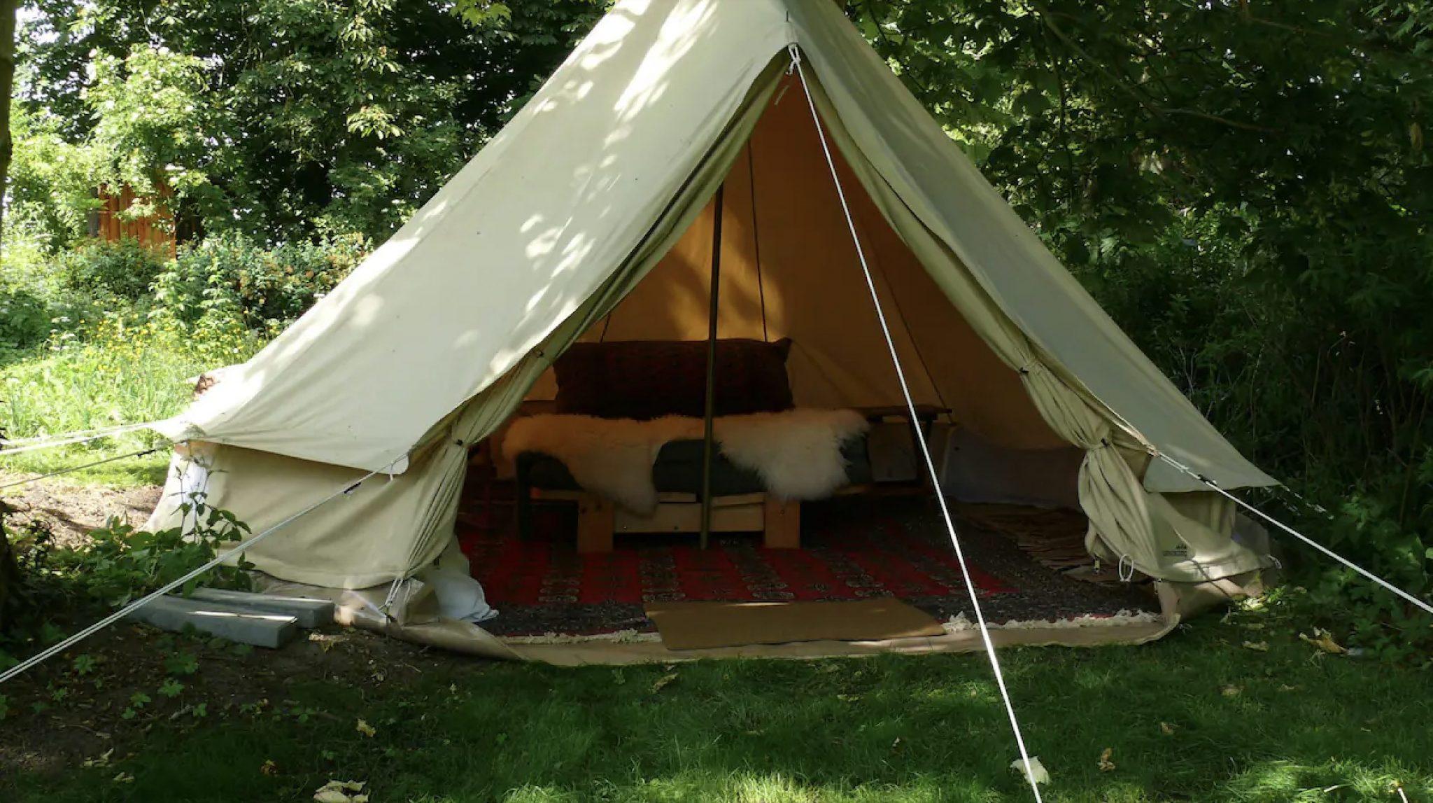 Luksus camping nær Roskilde